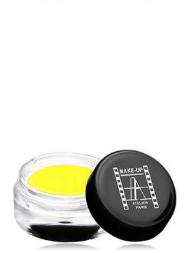 Make-Up Atelier Paris Gel Color Waterproof CGJ Yellow Краска гелевая водостойкая желтая